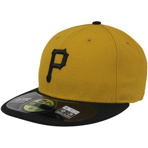 New Era 59fifty MLB On Field Fitted Hat Cap - Pittsburgh Pirates Alternate 2T