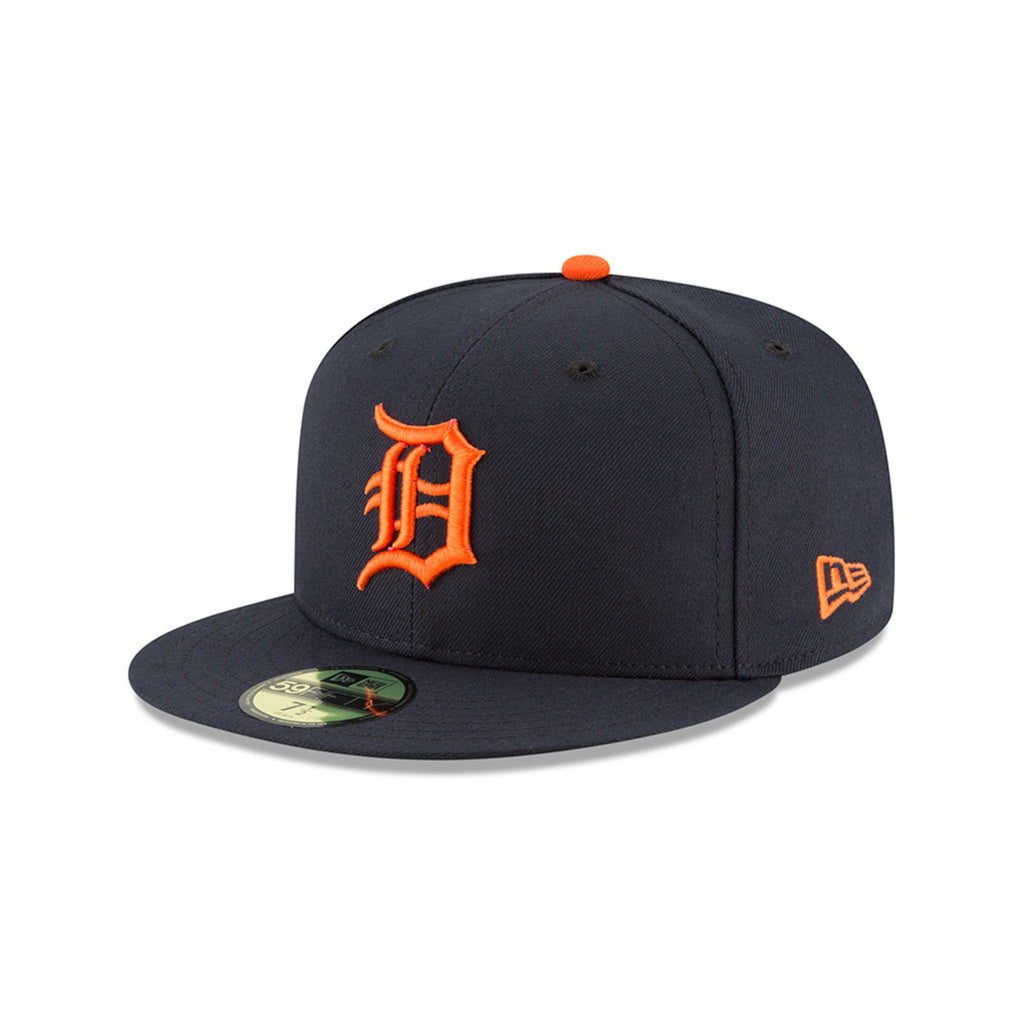 official photos 2974e 6bdd1 New Era 59fifty MLB On Field Fitted Hat Cap - Detroit Tigers Road