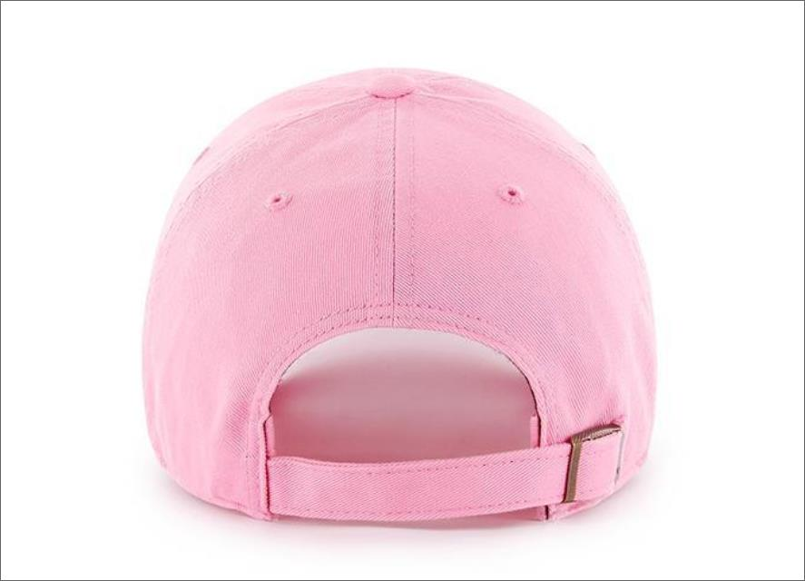 a5470e09f LA Dodgers Dad Hat Rose Pink White 47' Brand MLB Cleanup Unstructured  Baseball Cap