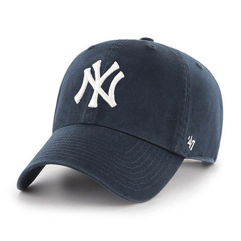 47' Brand MLB Cleanup New York Yankees Dad Hat Navy Blue Unstructured Baseball Cap