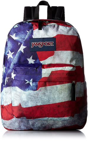 Jansport High Stakes Backpack ( TRS7 ) - Multi Grunge USA