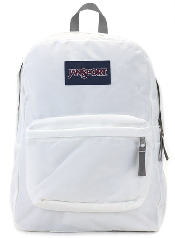 Jansport SuperBreak Backpack ( T501 ) - White
