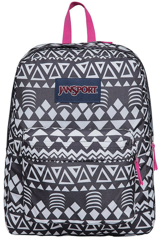 Jansport SuperBreak Backpack ( T501 ) - Black Geo Graphic