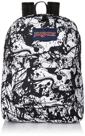 Jansport SuperBreak Backpack ( T501 ) - Black Paintball