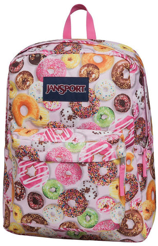 Jansport SuperBreak Backpack ( T501 ) - Multi Donuts