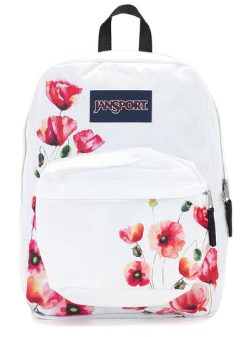 Jansport SuperBreak Backpack ( T501 ) - Mutli Cali Poppy
