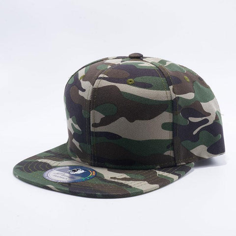 ( More Choice ) Men Women Woodland Camo Print Blank Baseball Cap Plain Snapback Hat