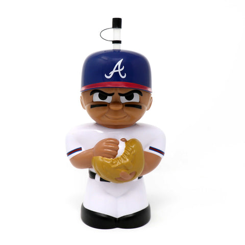 Atlanta Braves Big Sip 3D Water Bottle