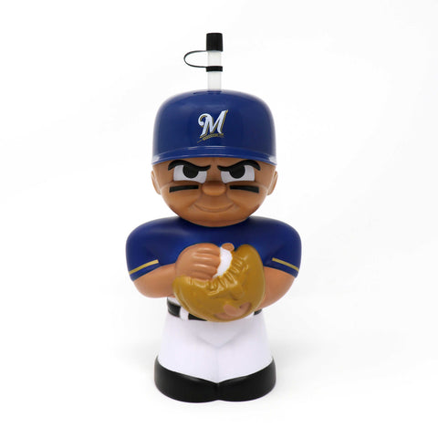 Milwaukee Brewers Big Sip 3D Water Bottle