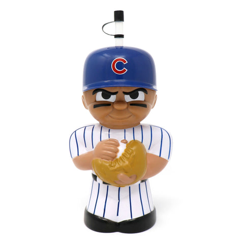 Chicago Cubs Big Sip 3D Water Bottle