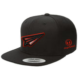 (more color) Paper Plane 3D Embroidered Snapback Hats