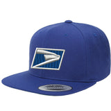 USPS Flat Bill Snapback Hats Uniform