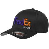 Fedex Ground Curved Bill Flexfit Size Hats Uniform