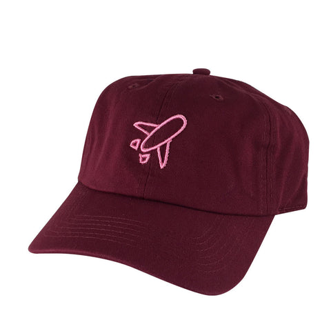 Airplane Outline Hat Dad Cap