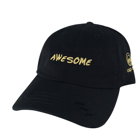 3D AWESOME Hat Dad Cap