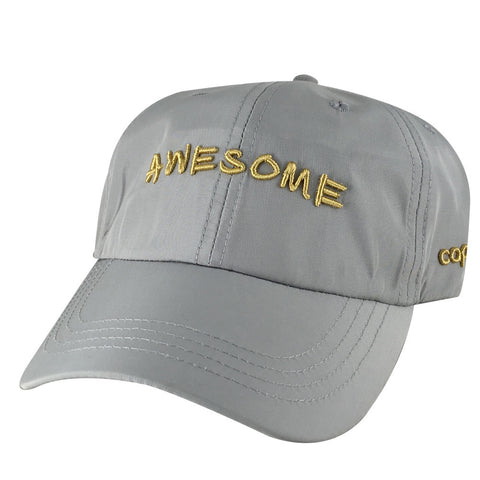 3D AWESOME Hat Nylon Dad Cap