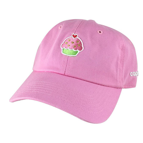 Heart Cupcake Dad Hats