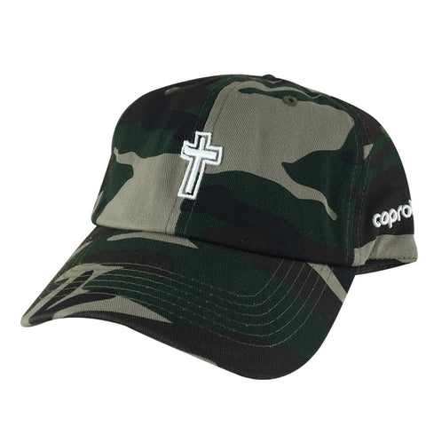 Jesus 3D Cross Church Hat Dad Cap
