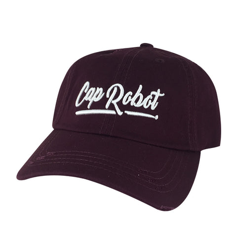 CapRobot Script Frayed Dad Hat
