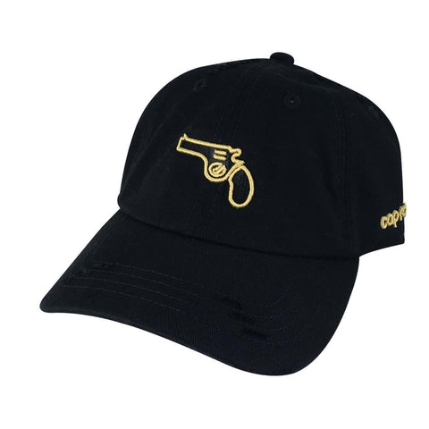3D Handgun Pistol Dad Hats