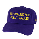 Make Los Angeles Great Again Dad Hats x Dodgers Lakers Colors