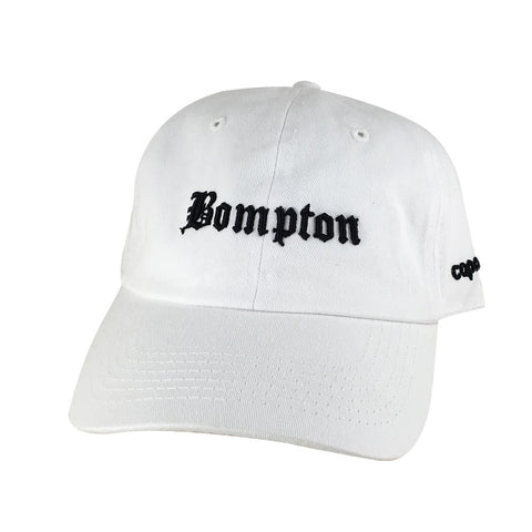 Retro NWA 3D Bompton Old English Hat Dad Cap