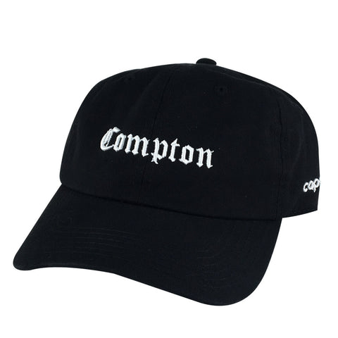 Retro NWA 3D Compton Old English Hat Dad Cap