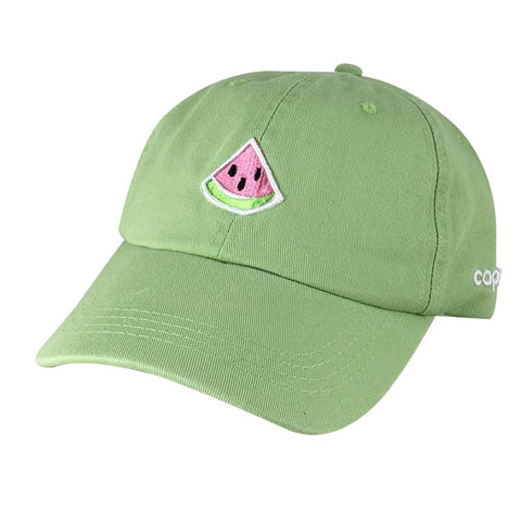 Emoji Watermelon Dad Hats