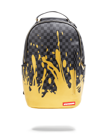 Sprayground Backpack x Liquid Gold ( Black )