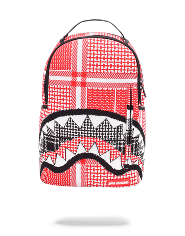 Sprayground Backpack x Sharks Mouth Arabia Knit ( Red )