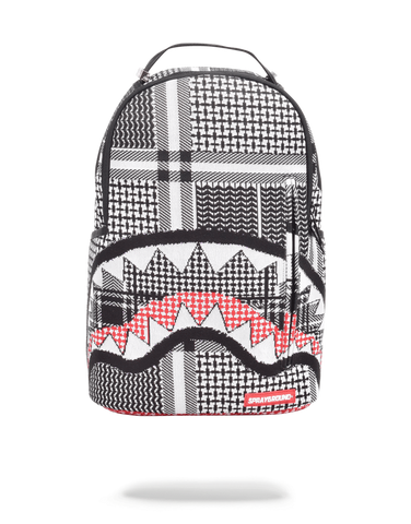 Sprayground Backpack x Sharks Mouth Emirate Knit ( Black )