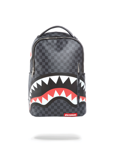 Sprayground Backpack x Sharks In Paris ( Black )