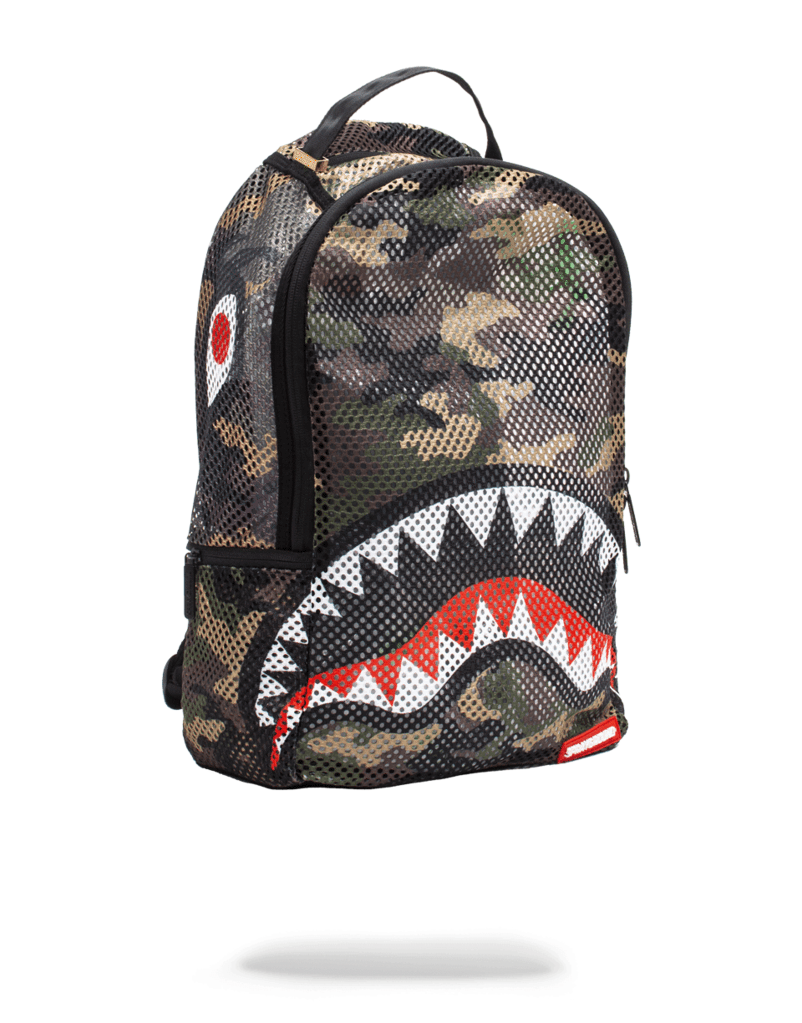 b883a5e888 Camo Woodland Shark Backpack- Fenix Toulouse Handball