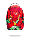 Sprayground Backpack x Young Diablo Bear ( Red )