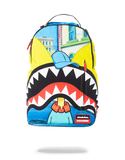 Sprayground Backpack x Hey Arnold Shark Mouth