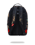 Sprayground NBA Backpack x Kylie Irving #11 Patch ( Camo )