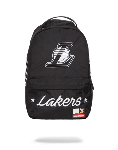 Sprayground NBA Backpack x LA Lakers Cargo ( Black White )