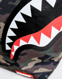 Sprayground Tote Bag x Sharks Mouth Woodland Camo
