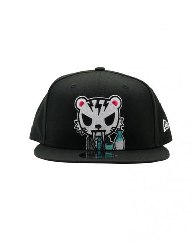 New Era 9fifty Tokidoki x Onitsuka Tiger Snapback Hat - Happy Hours Black