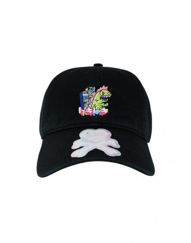 New Era 9twenty Tokidoki Dad Hats Kaiju Black