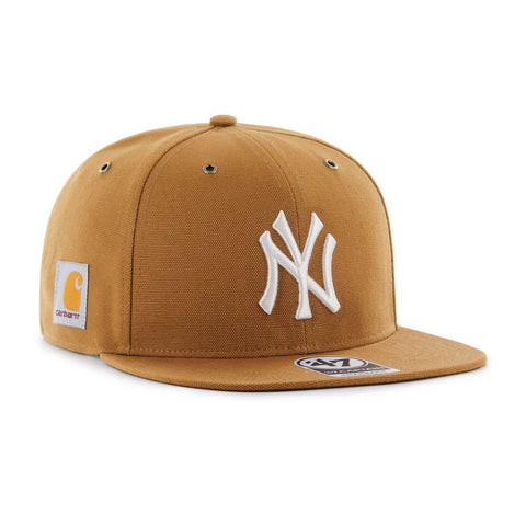 Carhartt x 47' Brand New York Yankees Captain Snapback Hat