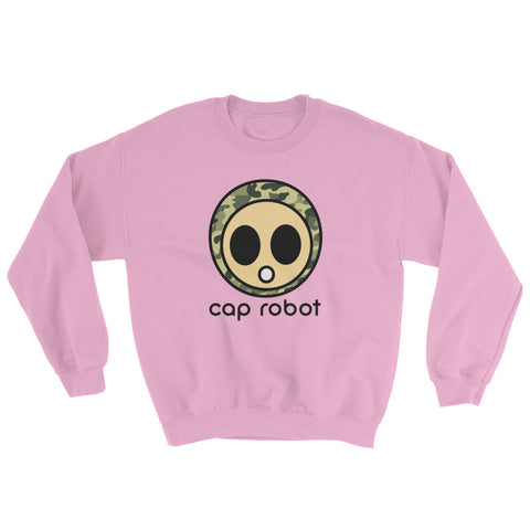 ( More Color ) Caprobot Classic Woodland Camo Sweatshirt - Light Series