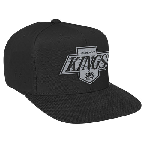 Mitchell and Ness NHL Basic Throwback Snapback Hat Cap - Los Angeles kings