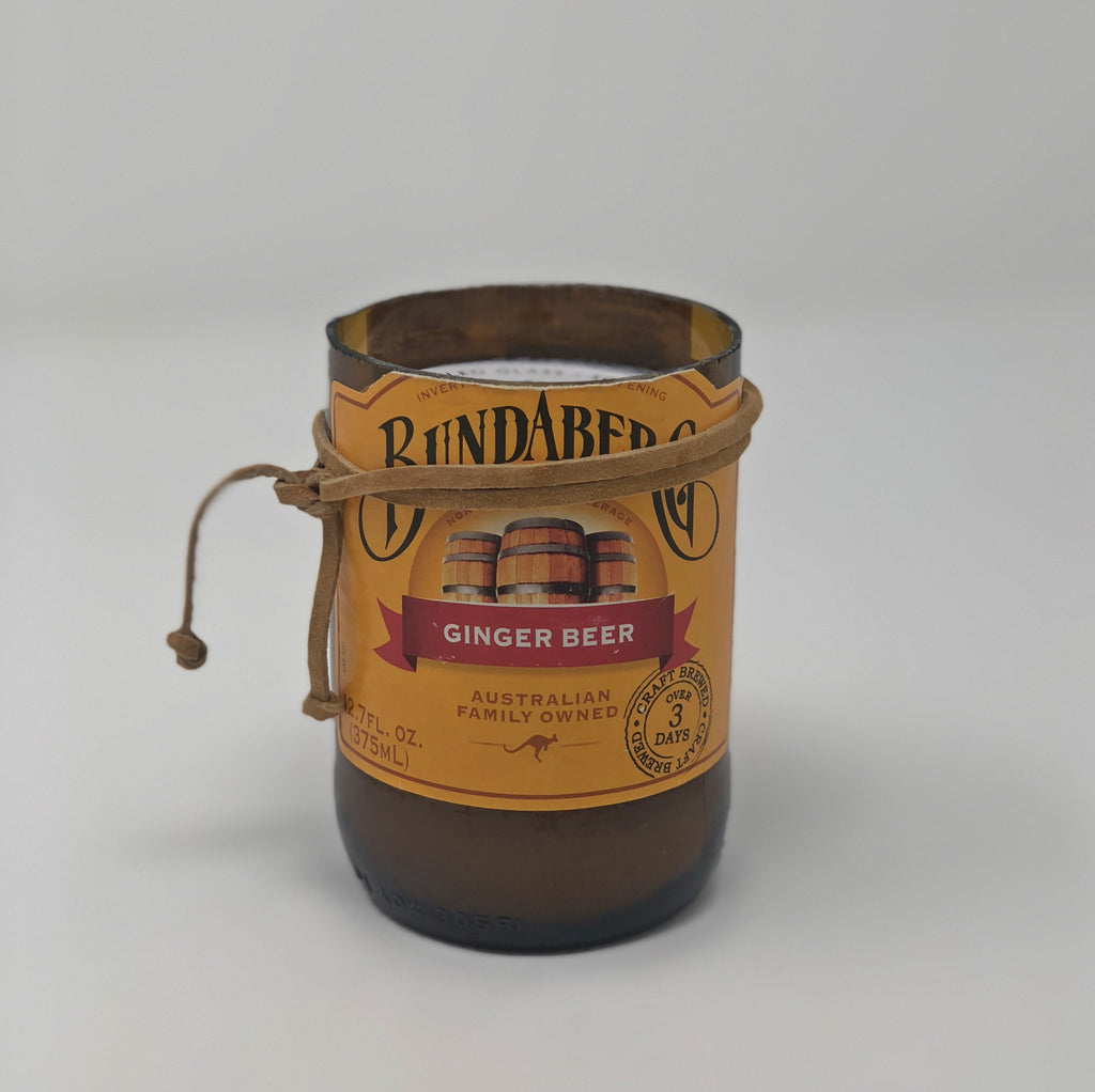 Bundaberg Ginger Beer Bottle Candle