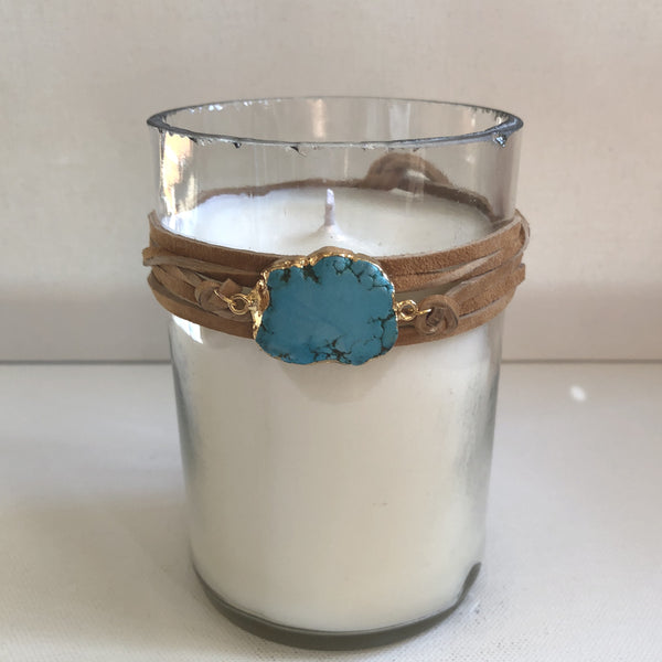 Day Dreamer Turquoise Candle