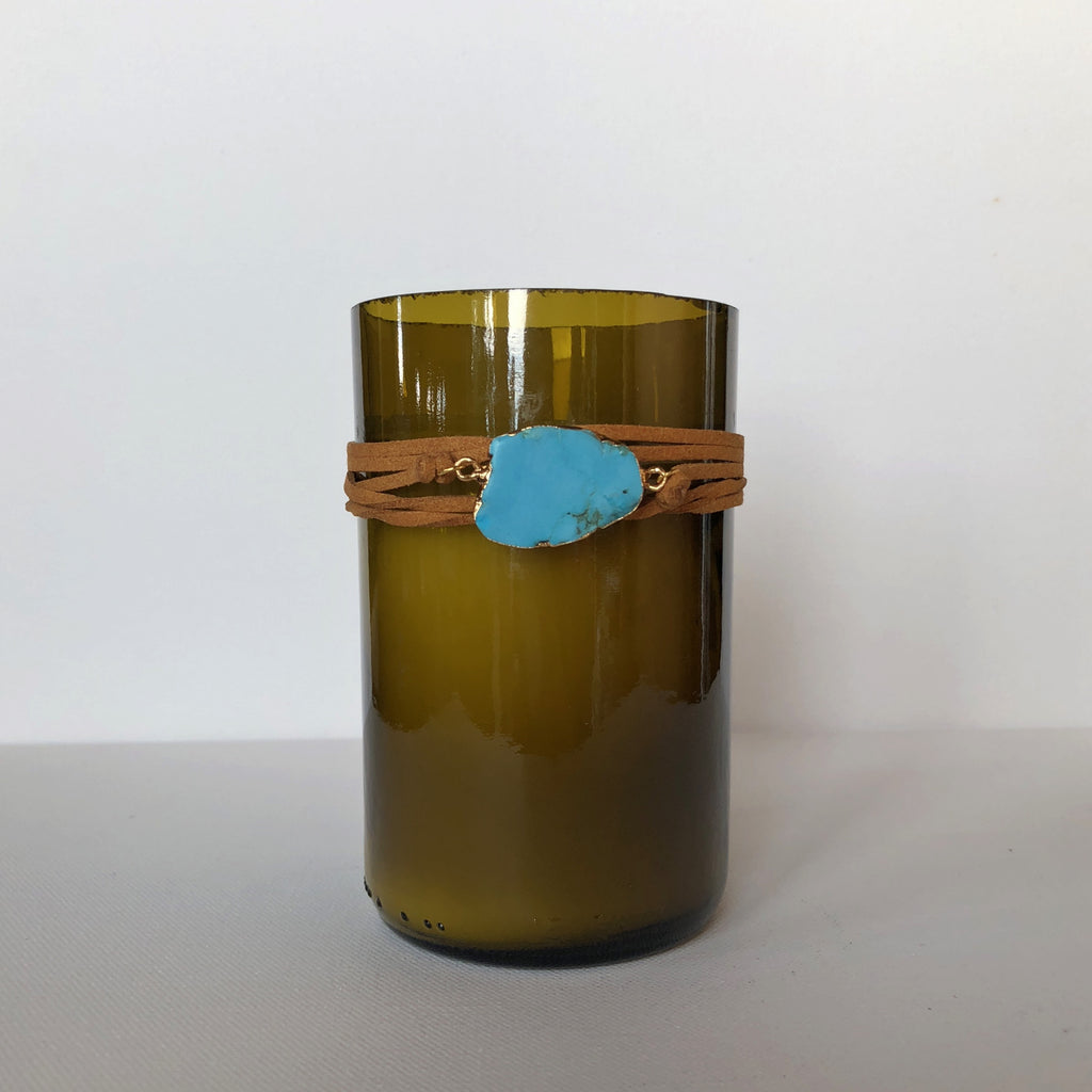Mountain Valley Turqoise Candle