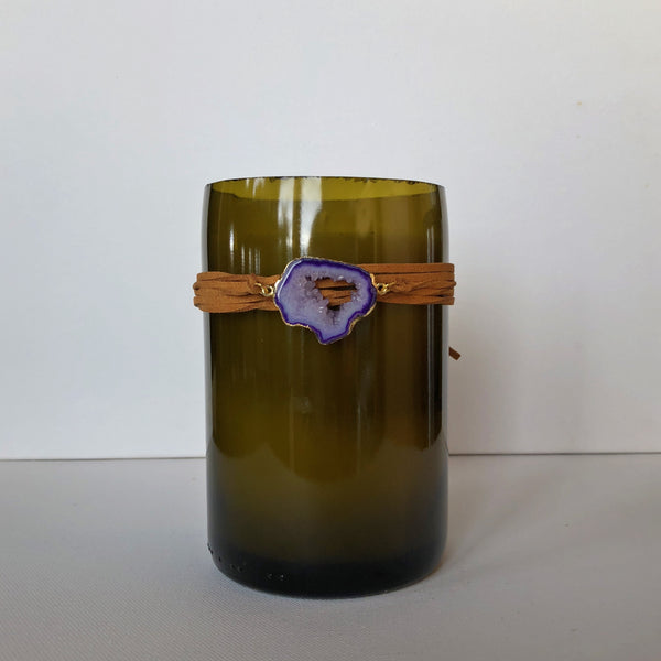 Lavender Agate Candle