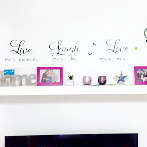 ... LIVE LAUGH LOVE WALL DECAL ...