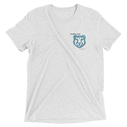 Snow Leopard Tri-blend Short sleeve t-shirt