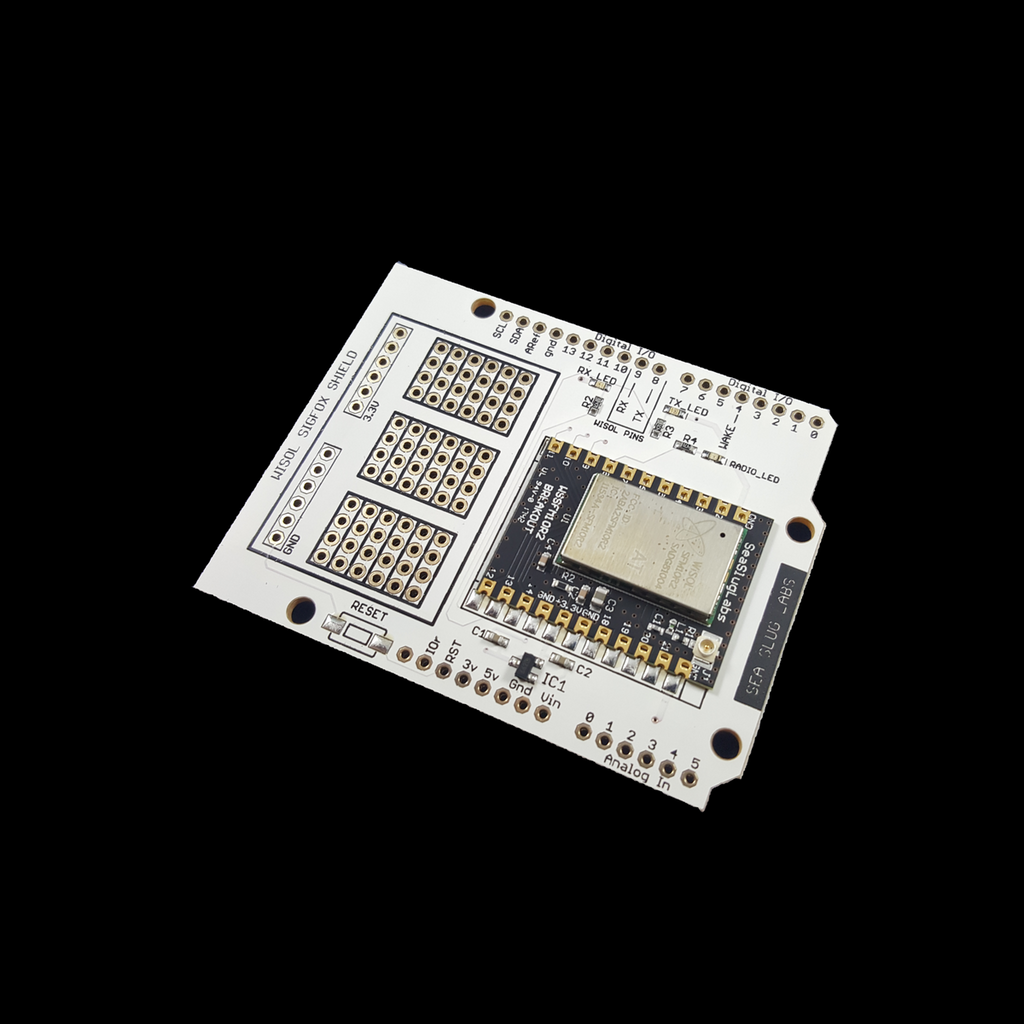 Wisol WSSFM10R2 Castellated Breakout Board – seasluglabs